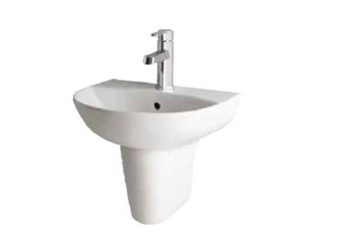Eastbrook Farringdon Bathroom Basin & Semi Pedestal Varoius Sizes